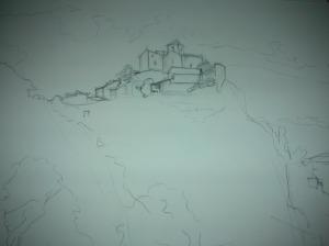 St Yvoine crayon