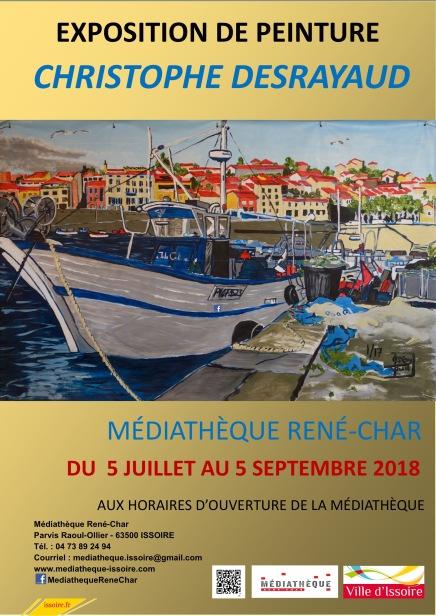 18-07-05 Affiche Christophe Desrayaud